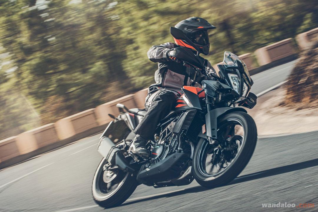 KTM 390 Adventure Maroc