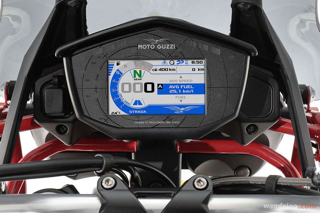MOTO GUZZI V85 TT Maroc